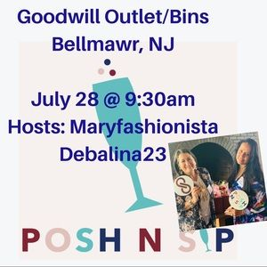 Posh N Sip Goodwill Bins Bellmawr, Nj Sourcing